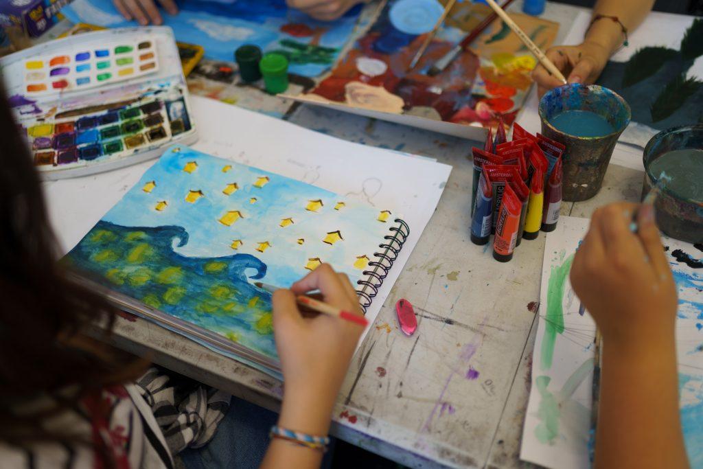lekcje rysunku dla dzieci warszawa