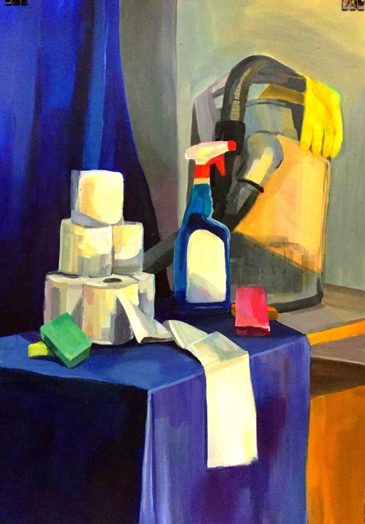 malarstwo farbami akrylowymi